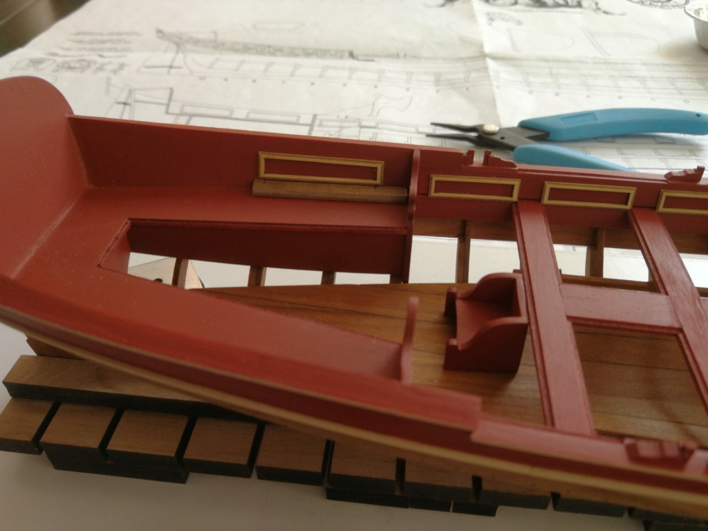 Barge royale - Reine Anne - 1750 - Syren Ship Model Company - 1:24 Boxwoo12