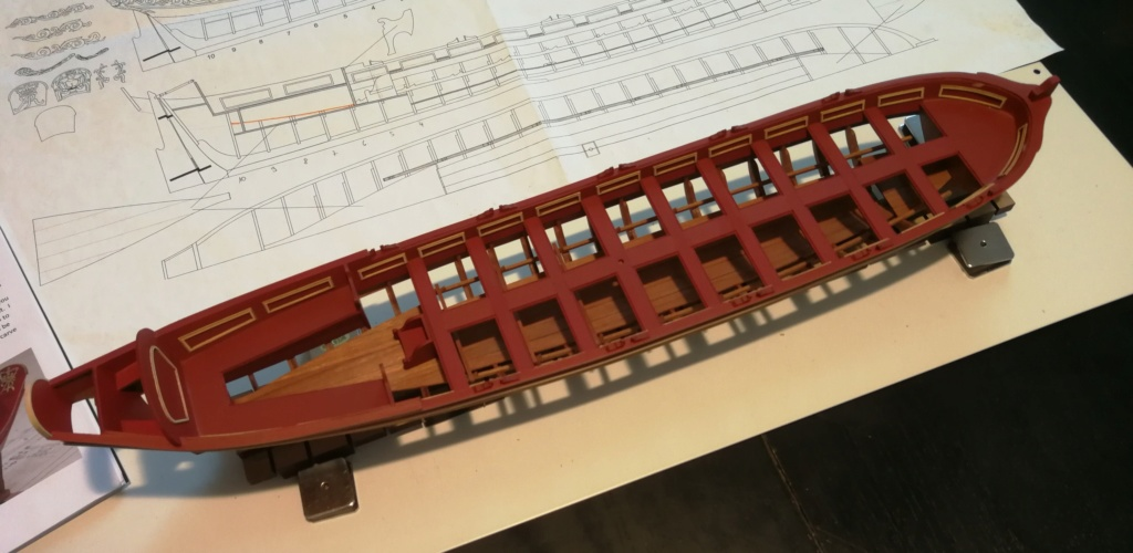 Barge royale - Reine Anne - 1750 - Syren Ship Model Company - 1:24 Boxwoo15