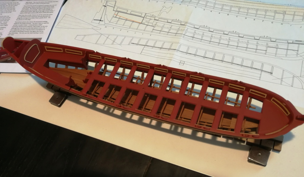 Barge royale - Reine Anne - 1750 - Syren Ship Model Company - 1:24 Boxwoo16