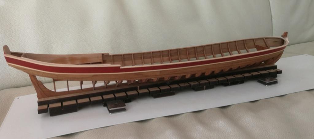 Barge royale - Reine Anne - 1750 - Syren Ship Model Company - 1:24 Peintu10