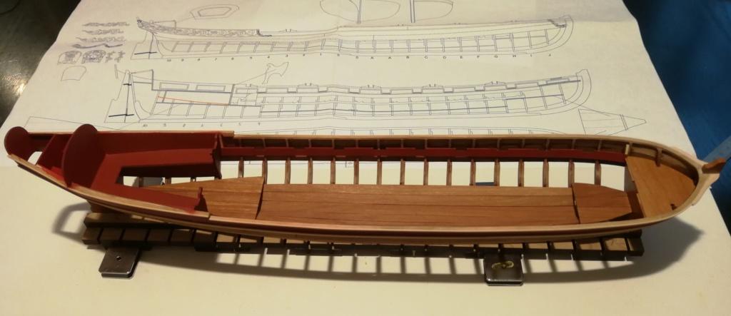 Barge royale - Reine Anne - 1750 - Syren Ship Model Company - 1:24 Peintu11