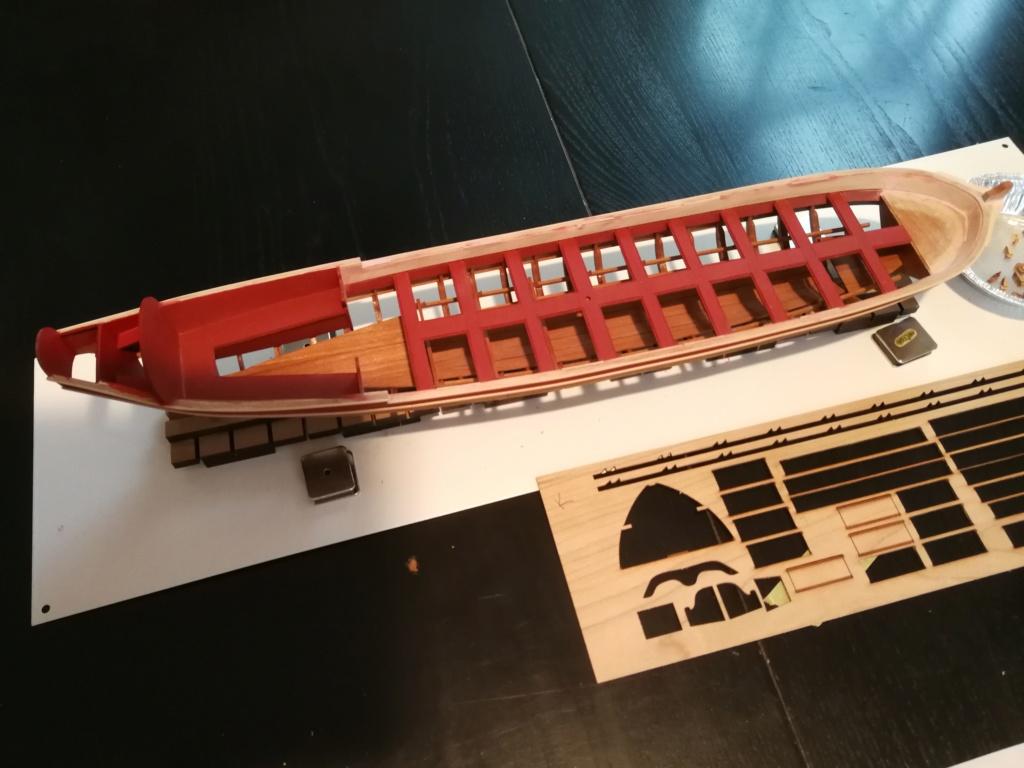 Barge royale - Reine Anne - 1750 - Syren Ship Model Company - 1:24 Peintu14