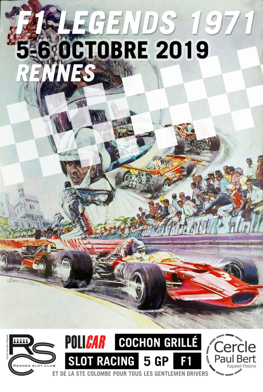 F1 Legend 1971 / 5-6 octobre 2019 Affich14
