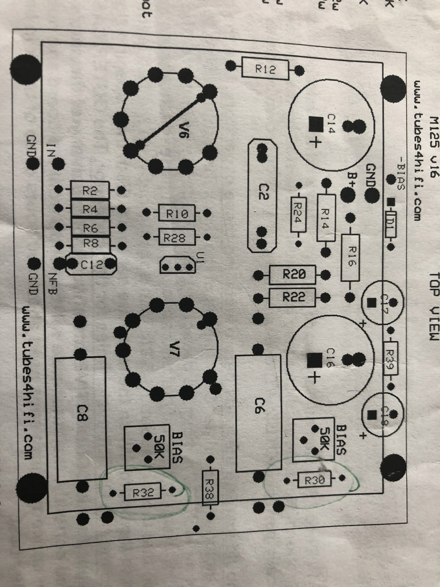 Issues with M125 after Auto Bias install 8ec74210