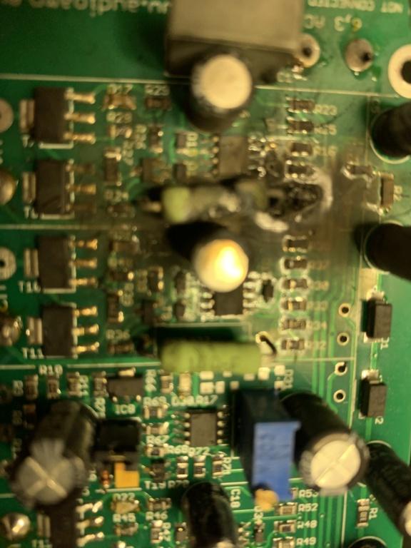 Catastrophic failure of auto bias board in M-125 903c3610