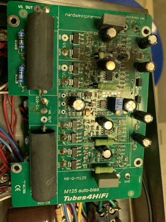 Catastrophic failure of auto bias board in M-125 F3e54410