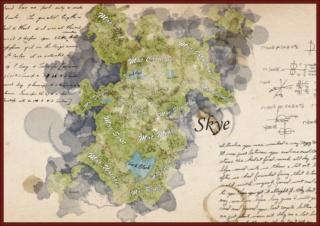 Atelier du Cartographe et piètre Dessinateur, Edwin Scott. Map_of10