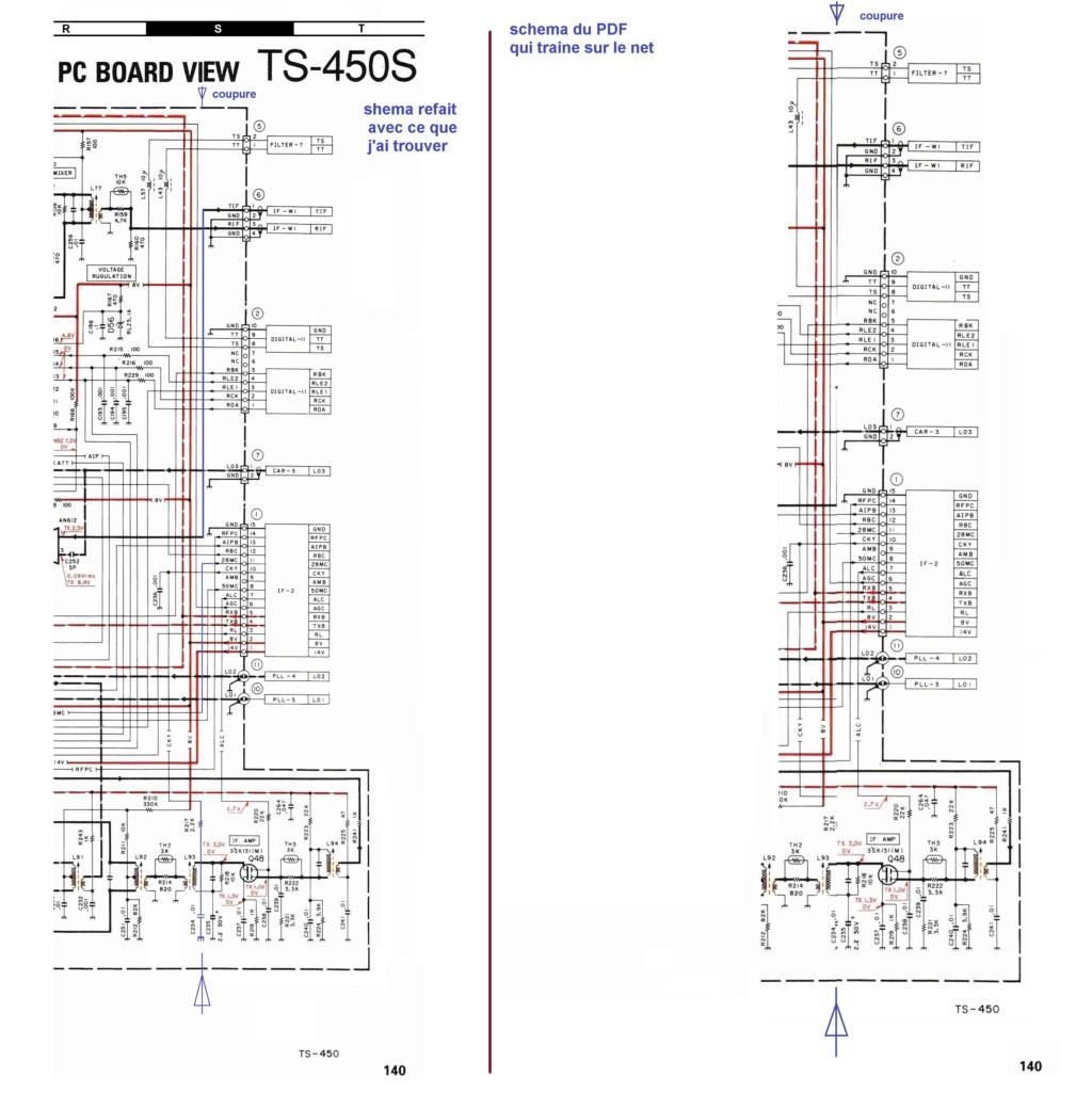 Kenwood TS-450S Schema10