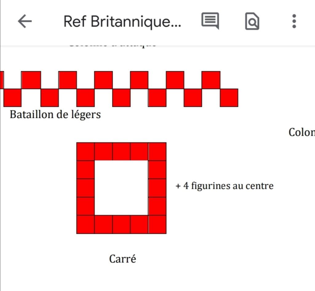 Formation du carré / poursuite Screen31