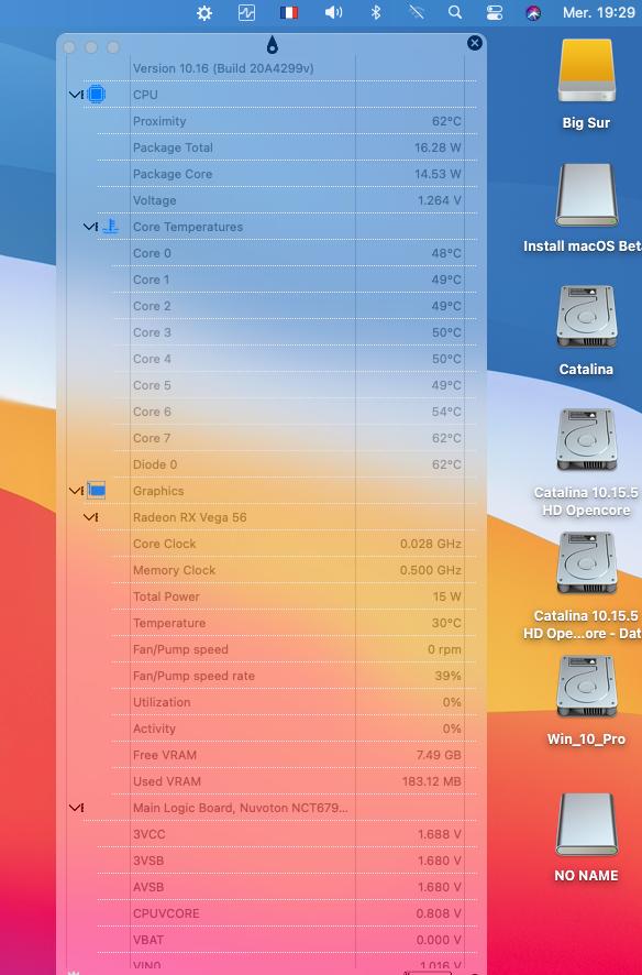 MacOS Big Sur Problèmes d'utilisation Captur77
