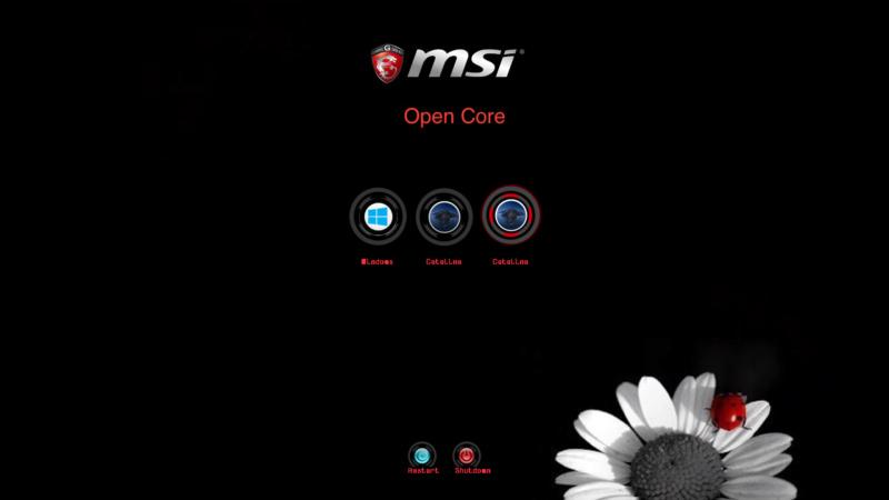 Open Core Bootloader Screen28