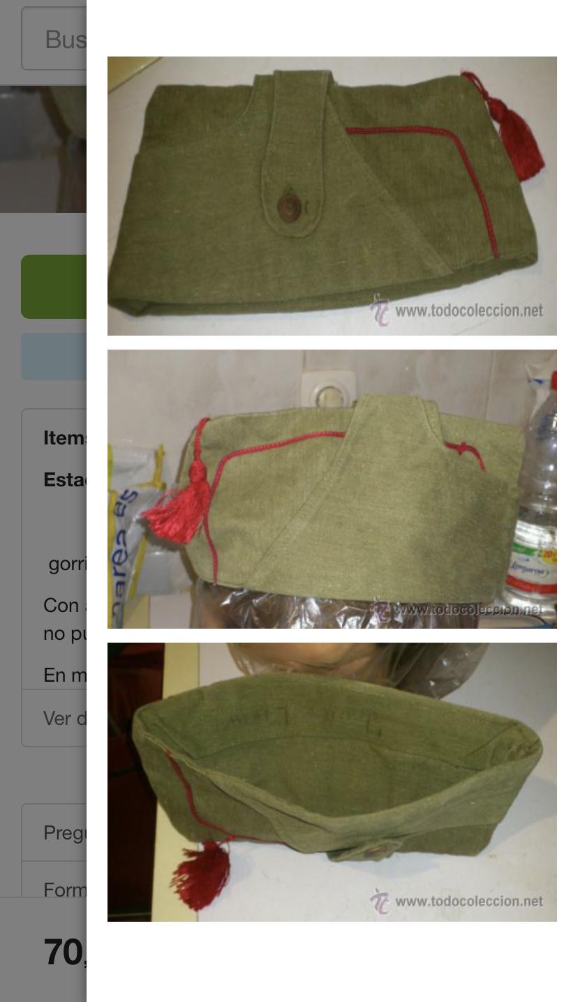 bonnet de police espagnol ou belge  77574e10