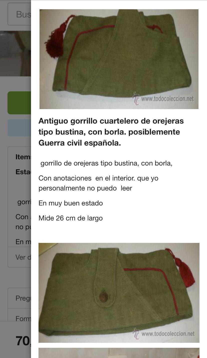 bonnet de police espagnol ou belge  9160de10