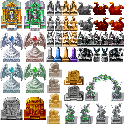[VX/ACE] Autel's Statues Autels10
