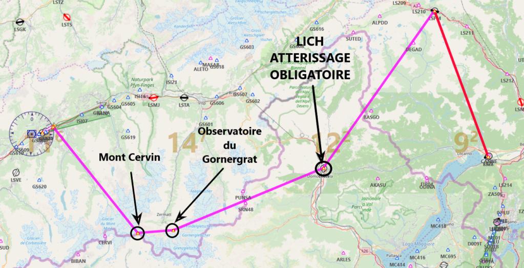 Les Alpes étape 3 Carte10