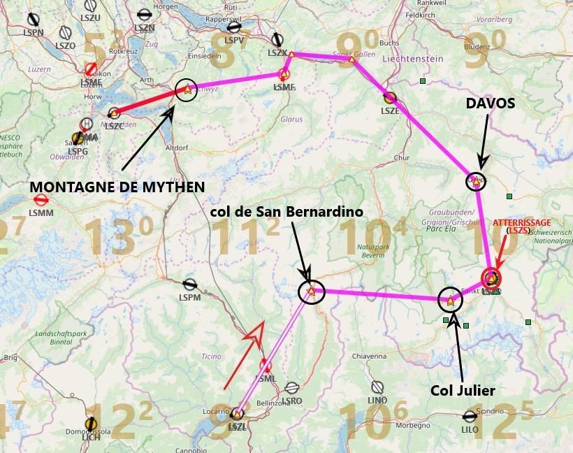 Les Alpes étape 4 Carte12