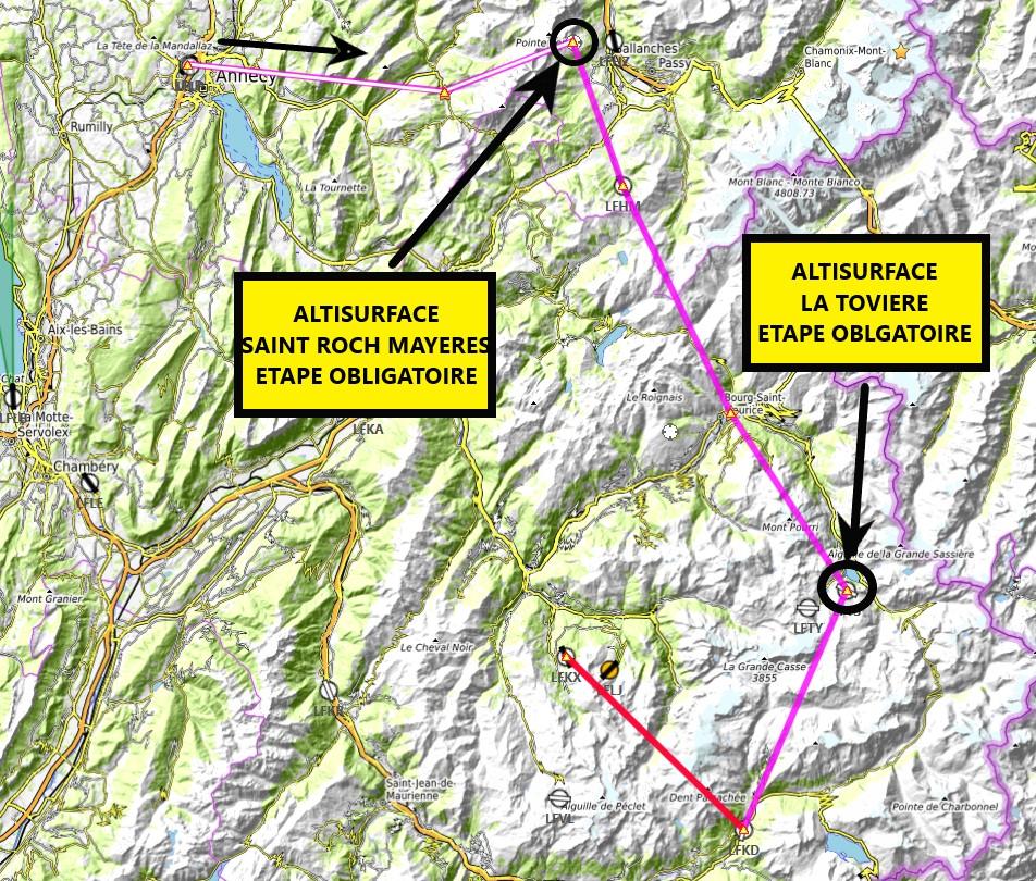 Les Alpes etape 6 Carte14