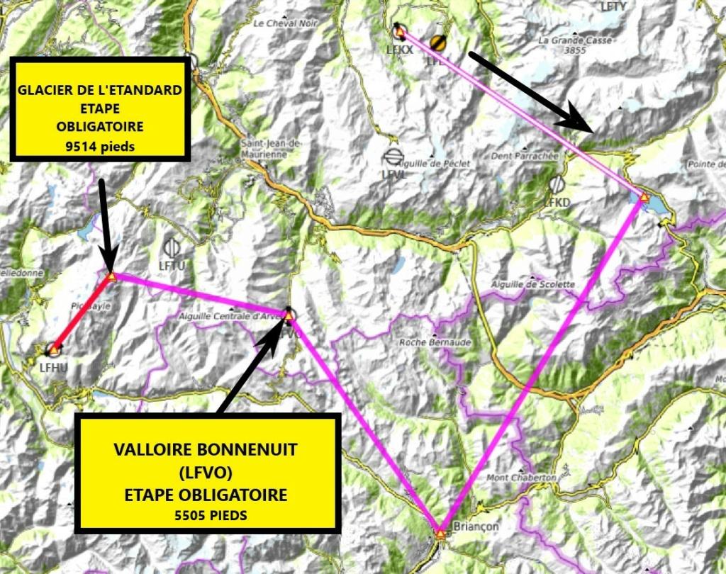 Les Alpes étape 7 Carte15