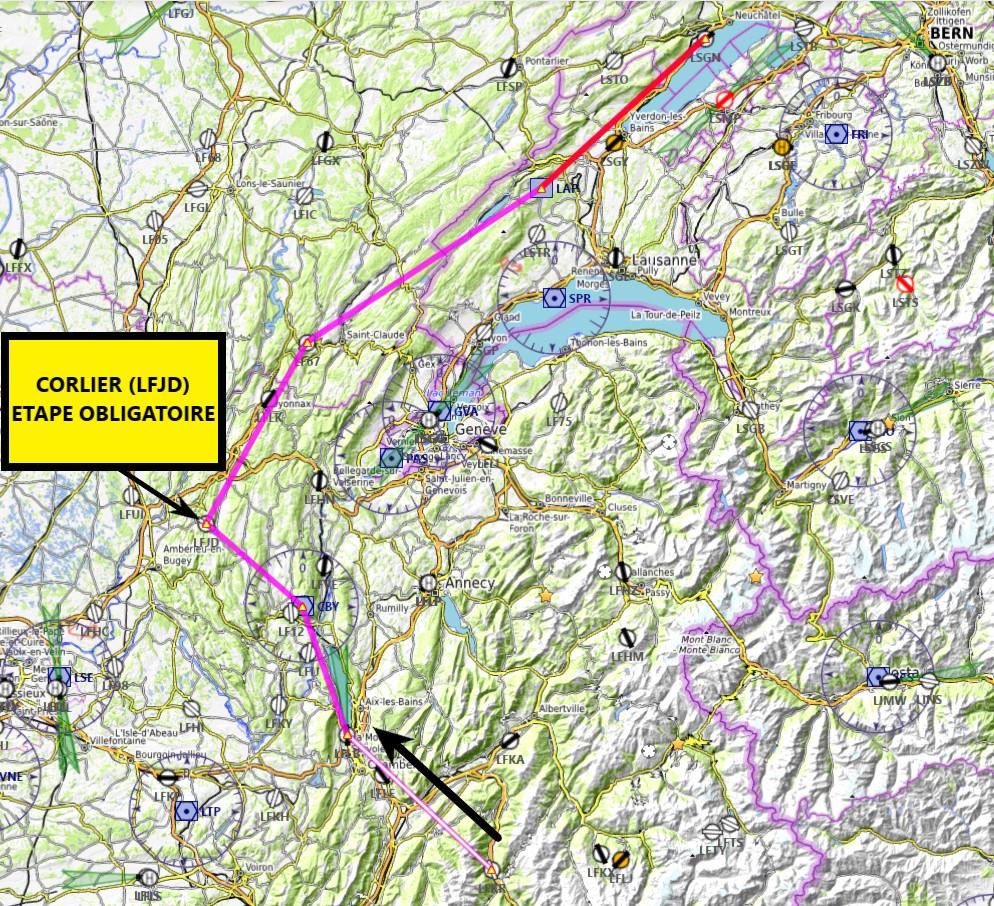 Les Alpes étape 9 Carte16