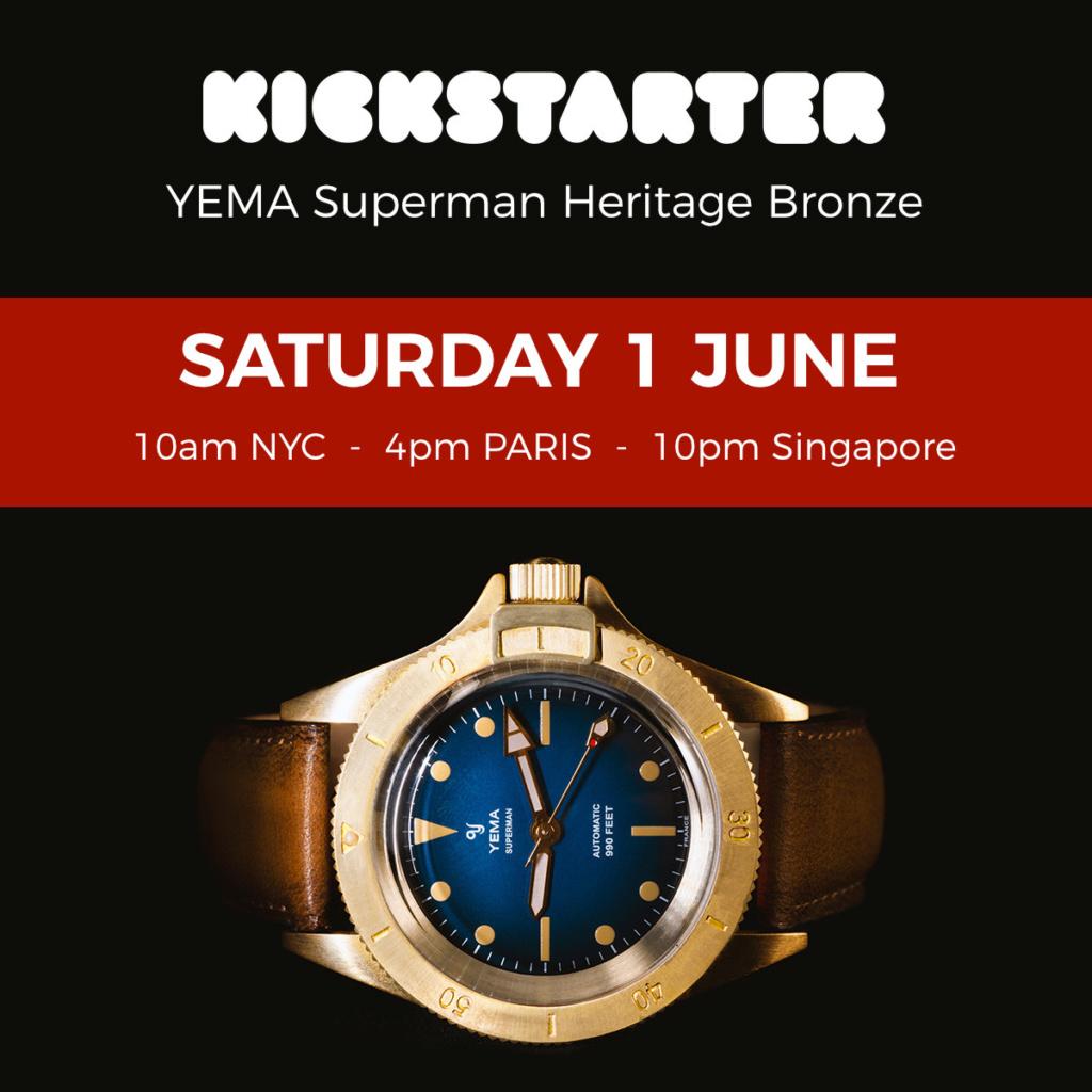 Yema superman version bronze  - Page 3 Kickst12