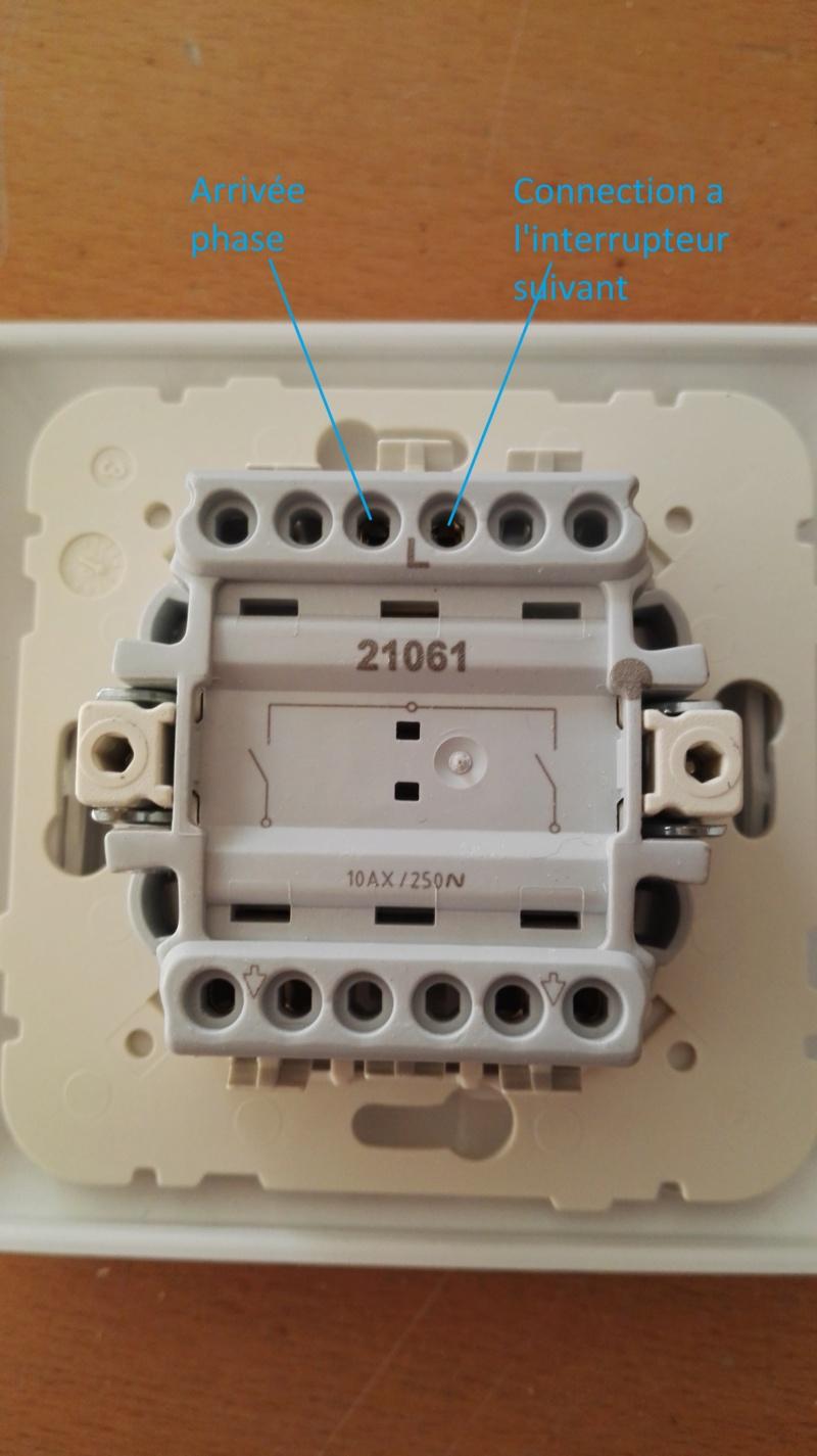 Branchement d'un interrupteur double Interr10