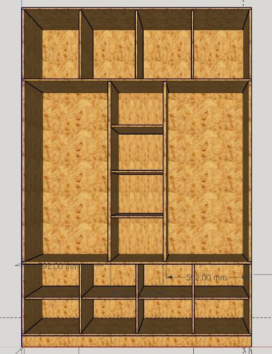 Conseils sur conception d'une grande armoire Projet10