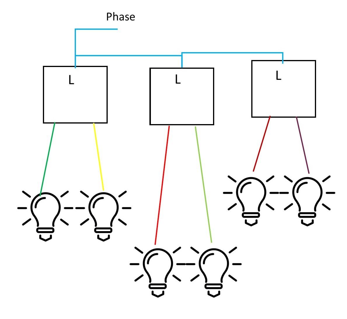 Branchement d'un interrupteur double Shema11