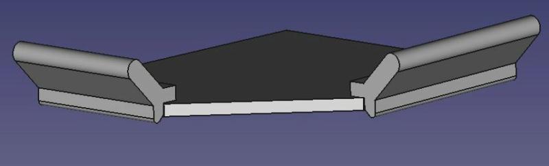 Comment calculer les angles de découpe d'une moulure Vue_pr10