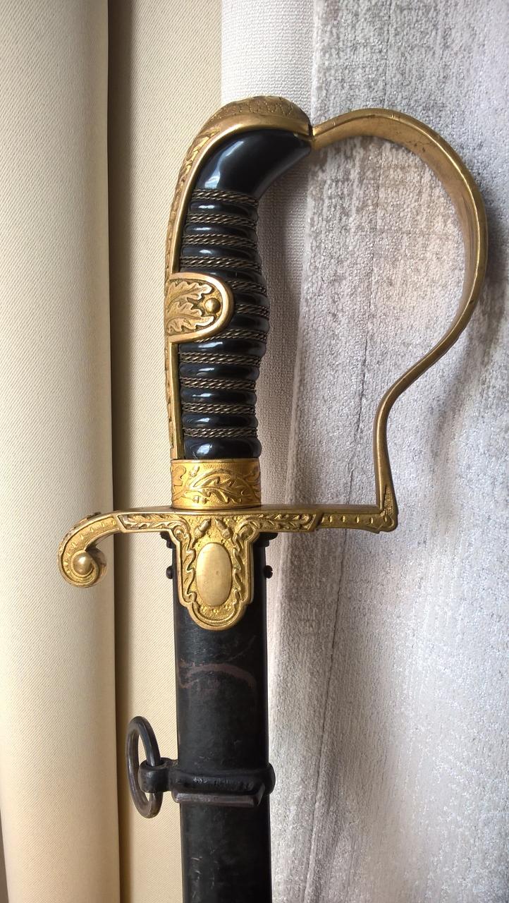 """Sabre d'officier Eickhorn modèle n°1693 """"Wrangel"""" 1415"""