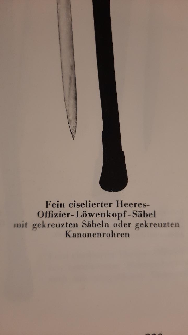 Sabre de parade WKC N° 20 Allemagne 39 -45 20201158