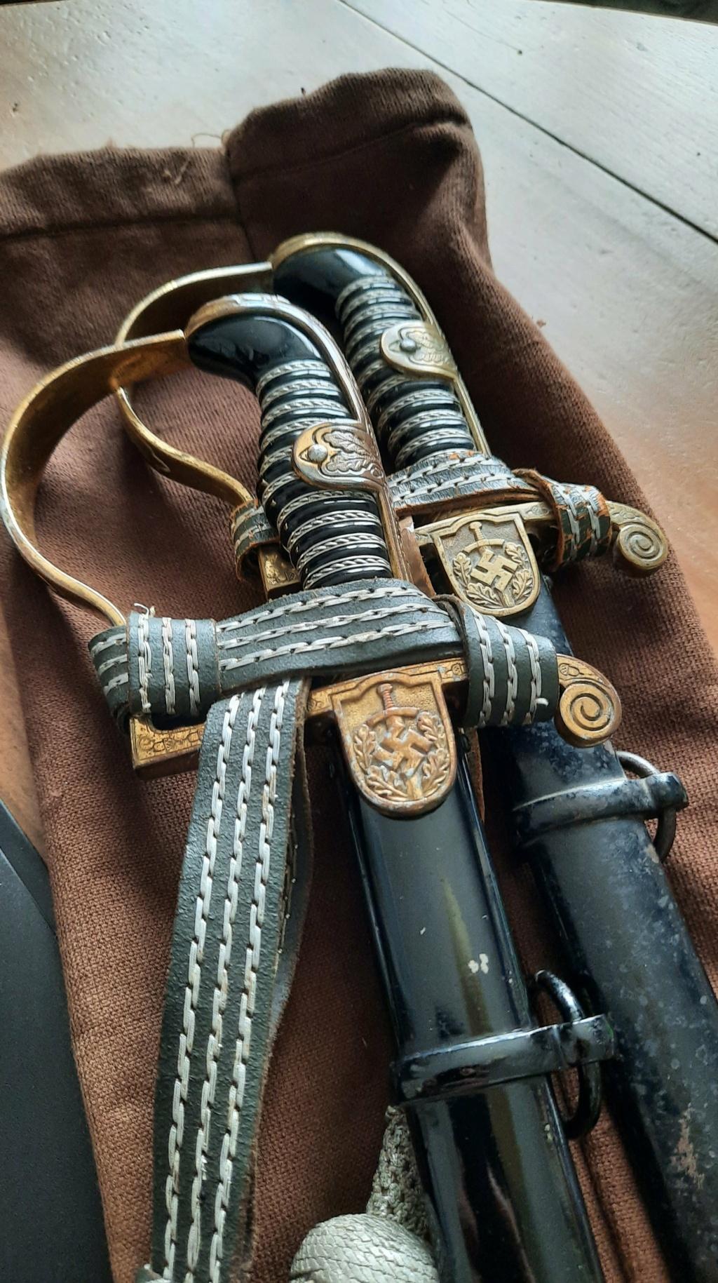 "Sabre officier HEER Eickhorn – Modèle N° 1747 – ""Lutzow"" - Part II  20210514"