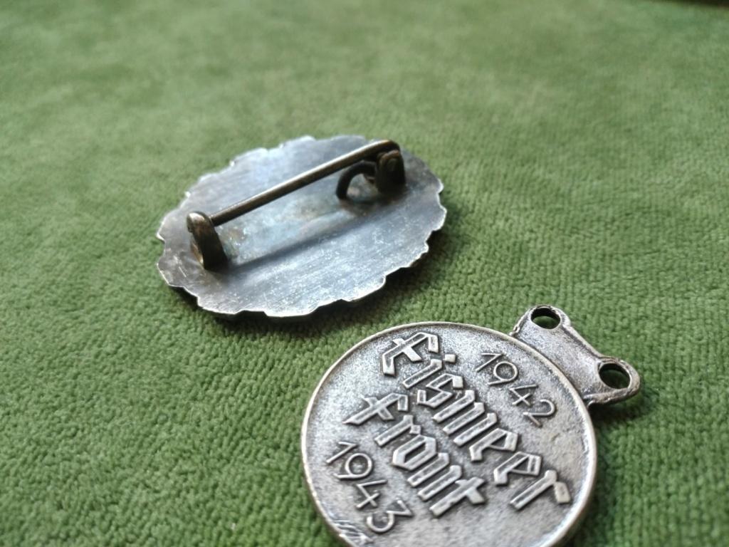 Identification médaille allemande Eismeerfront 1942 + 43 7c15d510