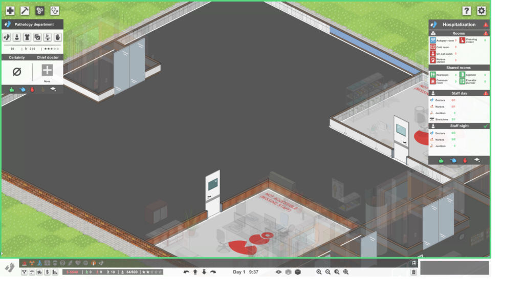 [QUESTION] Floor not accessible Sem_tz10