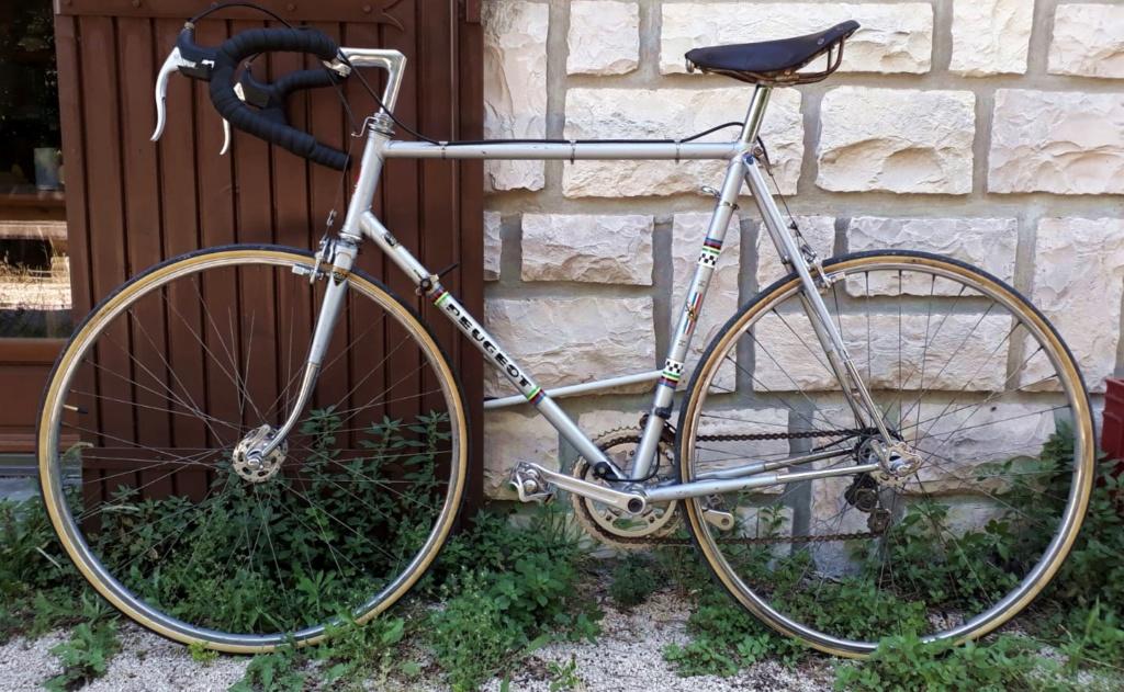 Le Peugeot PX 10 de 77 du grand-père qui n'aimait pas le vélo  Peugeo34