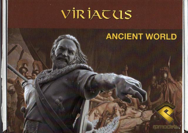 VIRIATUS l'ennemi de Rome Busto-11