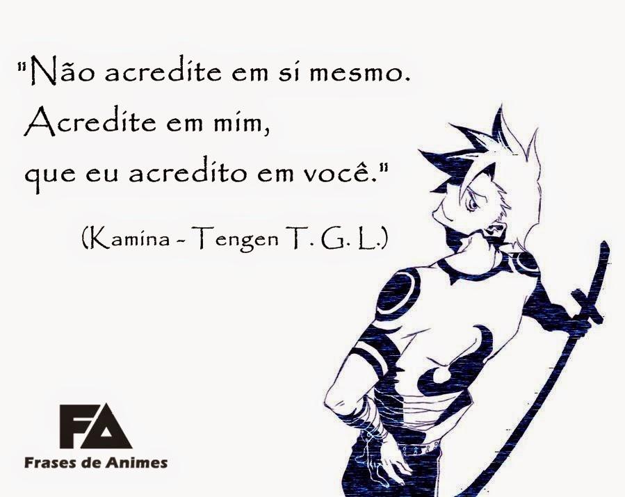 Frases de Anime Kamina11