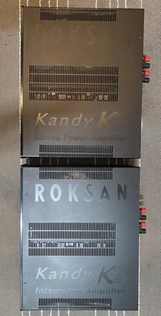 Roksan K2 Integrated & K2 Power Amplifier  7f894110
