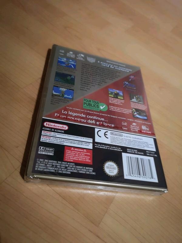 [VDS] Zelda Wind Waker Edition limitée boitier or - BLISTER NEUF - Nintendo GameCube 3_x_zz11