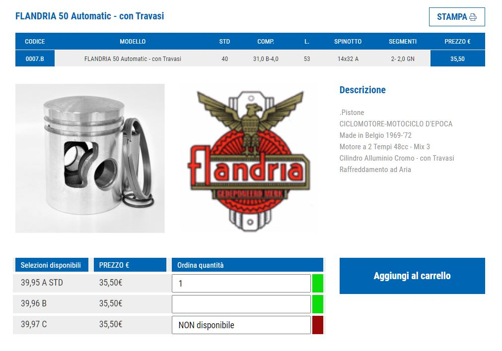 Rénovation moteur de Flandria SP537 - Page 2 Piston12