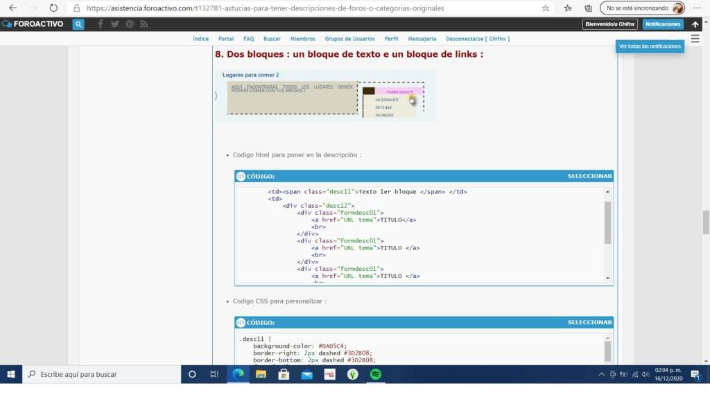 Modificar codigo de astucia para descripciones de subforos New_pr11