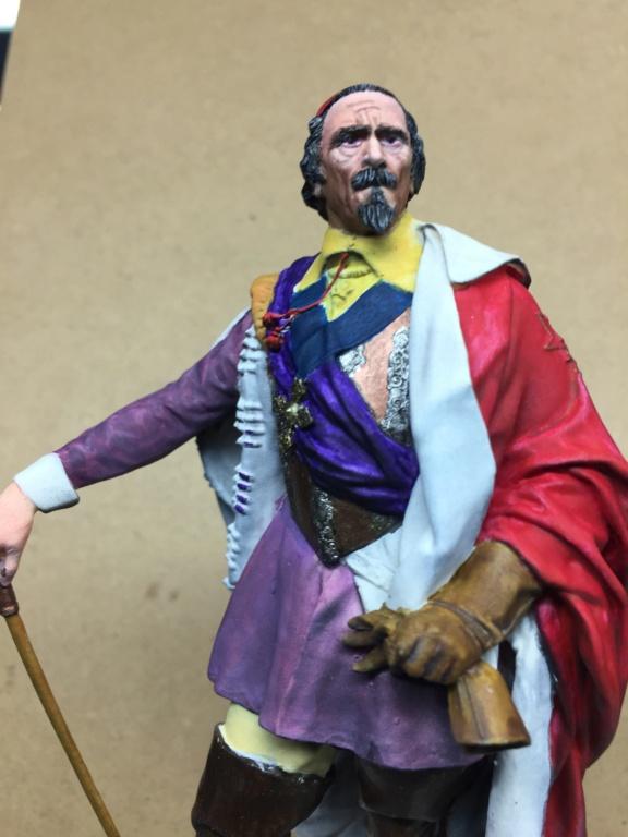 Armand Jean du Plessis Duc de Richelieu échelle libre Résine 3D ( 12cm ) Terminé F08b5010