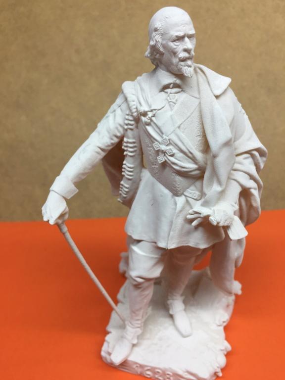 Armand Jean du Plessis Duc de Richelieu échelle libre Résine 3D ( 12cm ) Terminé Img_6911