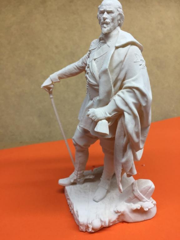 Armand Jean du Plessis Duc de Richelieu échelle libre Résine 3D ( 12cm ) Terminé Img_6915