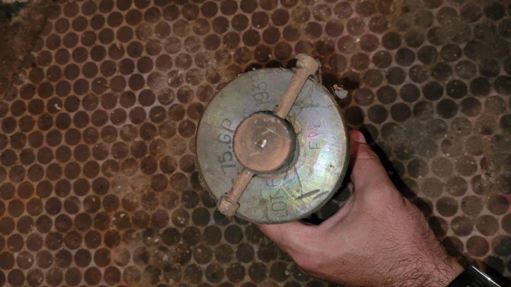 """Besoins d'aide pour identifier ce qui ressemble à des """"munitions"""" 20210914"""