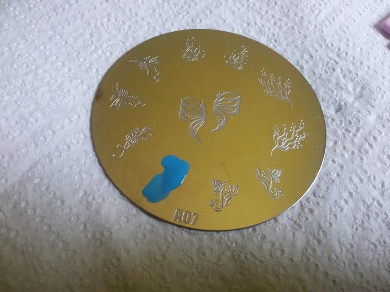 Stamping nail art 20130720