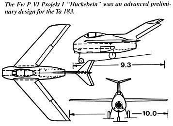 Fw Ta 183  ,II JG300 ,Löbnitz 1946 ... Ta183-10