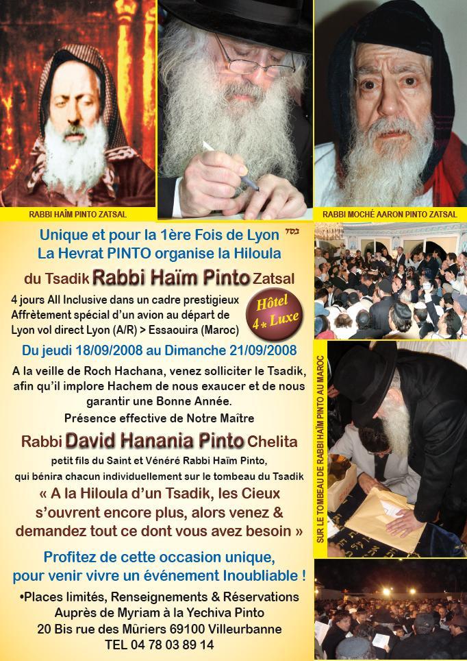 RABBI HAIM PINTO A GADOL DE MOGADOR 08082810