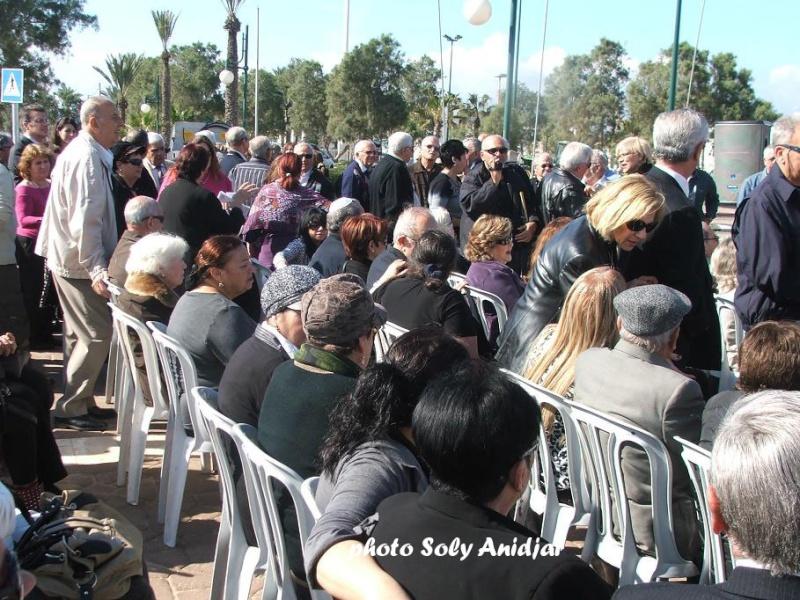 INAUGURATION DU MEMORIAL OMBRE ET LUMIERE CONSACRE A LA ALIA D'AFRIQUE DU NORD A ASHDOD Dscf9116