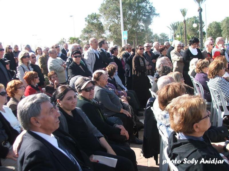 INAUGURATION DU MEMORIAL OMBRE ET LUMIERE CONSACRE A LA ALIA D'AFRIQUE DU NORD A ASHDOD Dscf9119