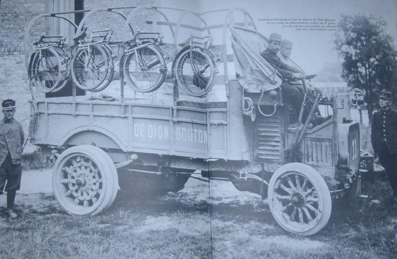 Transport des « pliantes » Camion10